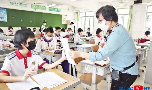 廈門3.8萬名初三學生今日復課 各校返校措施非常細致