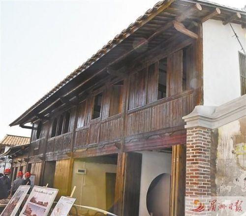 兴化府历史文化街区修缮整治样板房基本完工