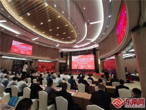 4月19日,晋江鞋(体)博会线上展会开幕。 东南网记者 陈诗婷 摄
