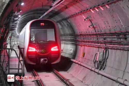 """重大进展!福州地铁1号线二期全线""""轨通""""!有望今年底实现……"""
