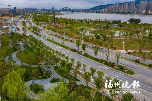 福州南江滨东大道10月前完成升级 一年四季各有花色