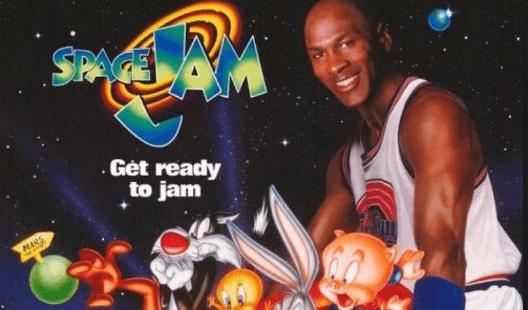 喬丹打球演戲兩開花 空中大灌籃成籃球電影標桿