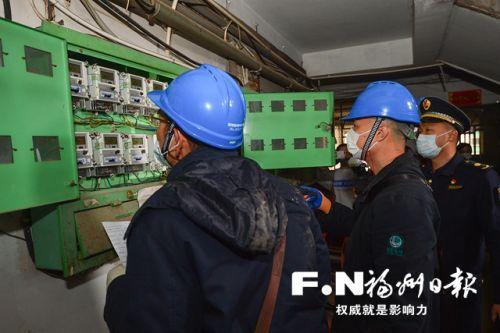 晉安城管協同電力公司,對群租房進行斷電。記者 鄒家驊攝
