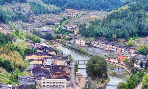 福建屏南:更美的村莊如期而至