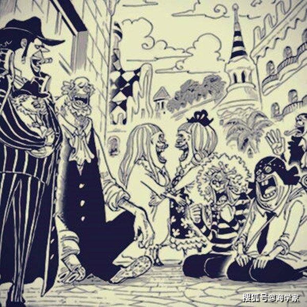 海贼王978话鼠绘汉化在线看:凌空六子亮相,两个玉人一个清纯一个御姐
