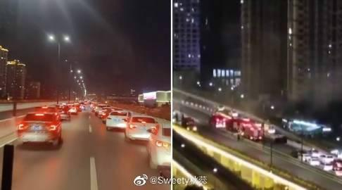 杭州上百辆私家车教科书式让道详细经过现场图曝光网友大赞