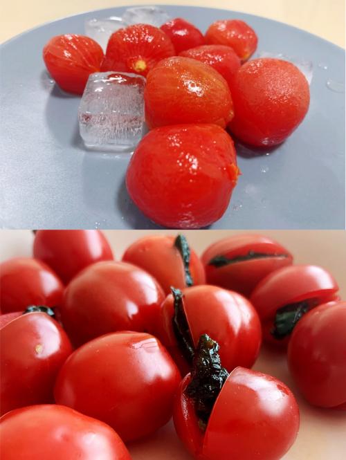台湾玉女小番茄来到家乐福福州宝龙店啦,一口一个停不下来