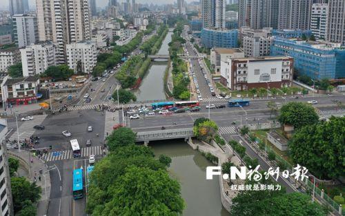 福州城区107条主干河道实现全面截污 每天收归近30万吨污水