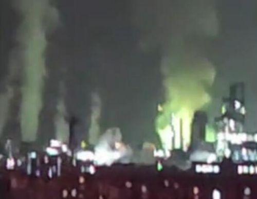 石家庄化工厂突发爆炸什么情况 现场照片曝光令人震惊