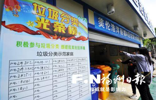 福州台江:生活垃圾分类覆盖率与无害化处理率均达100%