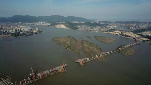 福州新区首座公轨合建大桥,预计明年下半年通车!