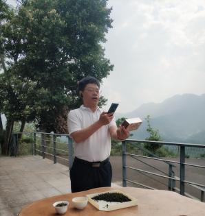 中国农业直播大联盟助农百县行:福建安溪县长在一亩田卖力带春茶