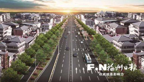 南屿镇117县道10月部分路段完工通车 将建成双向6车道