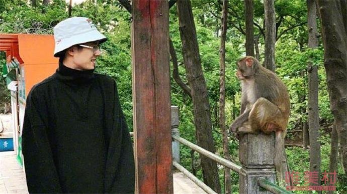 刘昊然和猴子对视画面曝光 刘昊然为什么和猴子对视详情始末