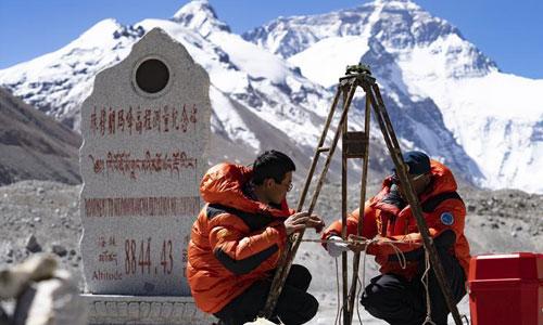 """珠峰""""身高""""从黄海测?——专家解读珠峰测高原理"""