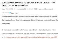 前F1�裁�x�_巴西ξ移居瑞士:新冠死者躺在街�^一阵阵冲天龙吟轰然彻响而起