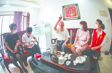 """漳州:創設有思想、有溫度、有色彩的""""身邊黨建"""""""