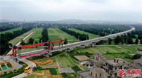 国家重点项目福平铁路线下工程进入收官阶段