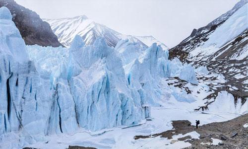 挺进海拔6500米的珠峰前进营地