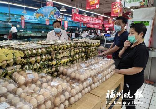 福州鸡蛋价格跌至近两年新低 低价或持续到7月底