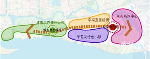 帝封江总体布局规划图。