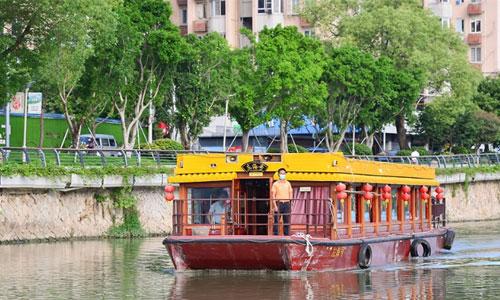 """晋安河福船""""游""""过一周年 都市夜生活再添魅力"""