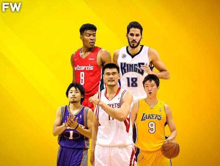 美媒评NBA各大洲历史最强阵:姚明孙悦成亚洲代表