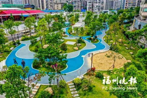 福州已建成串珠公園553個 城市綠脈綿延不絕