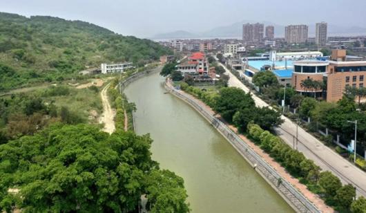 长乐二刘溪:综合整治再现水清岸美