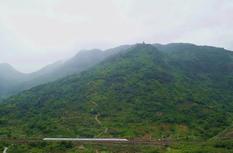 連江透堡鎮爐峰山2300多米登山棧道正式建成