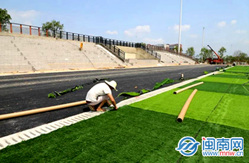漳州市职业教育园区项目整体预计7月竣工