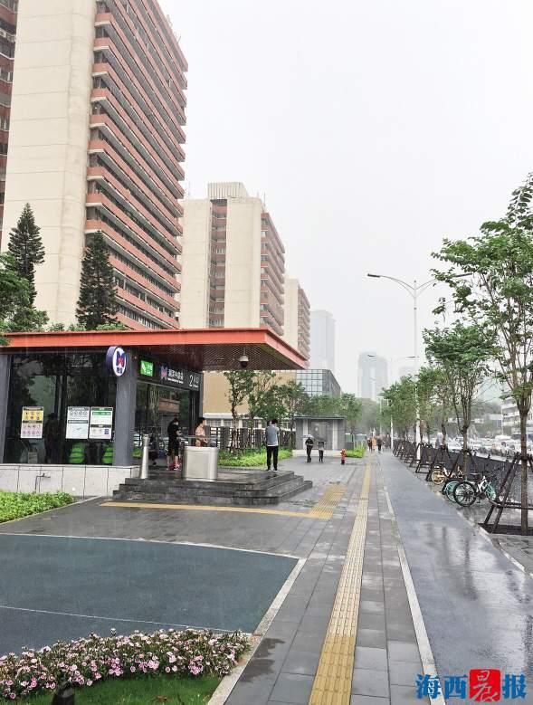 厦门湖滨北路、吕岭路沿线进行道路提升改造