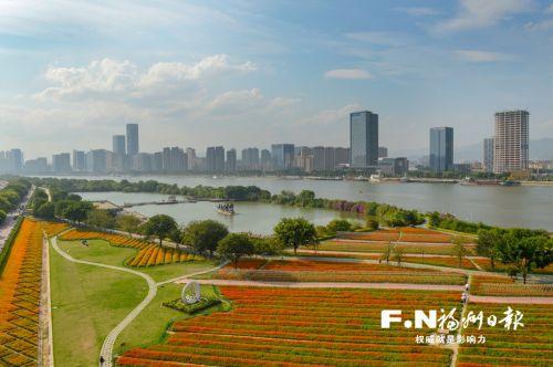 空气清新、环境优美成为福州的城市名片。 记者 池远 摄