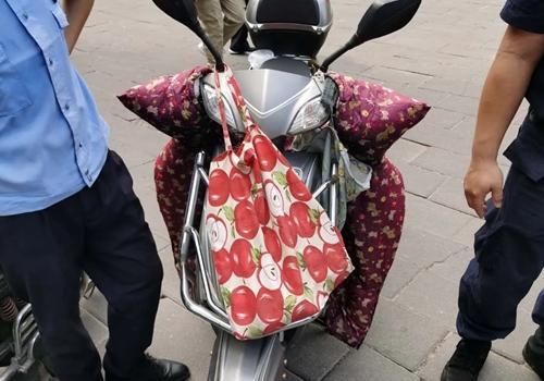 遮擋電動車號牌 福州多名騎手被罰