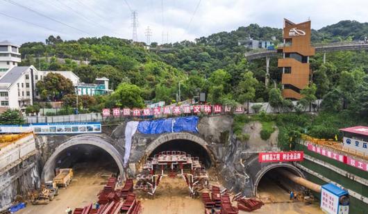 福州市工业北路延伸线工程南段项目加快掘进