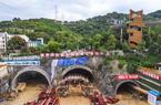 新葡市工业北路延伸线工程南段项目加快掘进