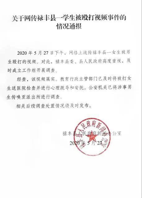 警方通报云南女生被多名男生殴打 事件来龙去脉全过程曝光太气人了
