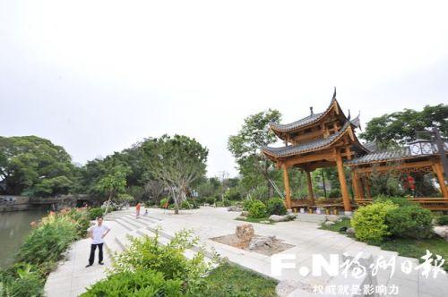 福州打铁港河蝶变:治理成效显 美景看得见