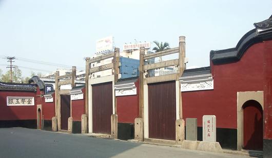 福州府文庙 榕城最大的清晚期官式建筑