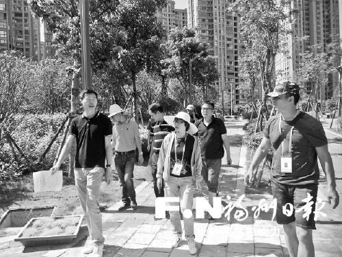 """福州烏龍江公園""""跟包團隊""""為串珠公園提供保姆式服務"""