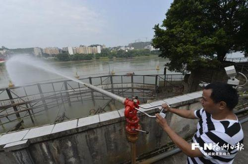 福州市饮用水源地水质100%达标,原水出厂要过106关
