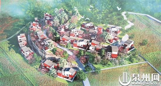 在山间农房过现代小区生活 永春打造新闽派农房示范小区