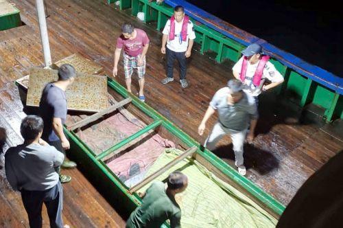 福建省查获涉嫌违反伏季休渔规定行为190多起