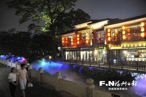 点亮城市夜色激活消费潜力 福州台江打造两大夜色经济示范区
