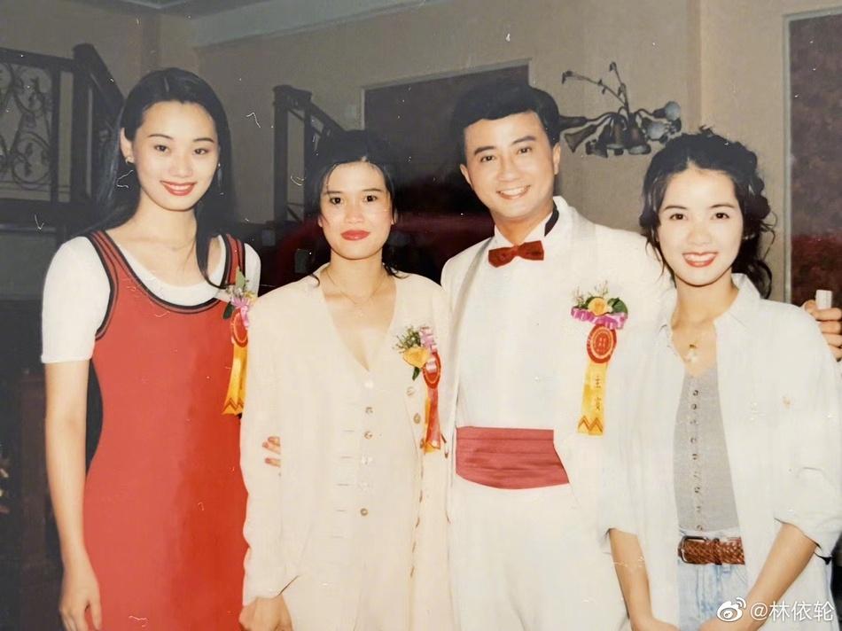林依轮晒照庆结婚25周年 林依轮妻子西华个人资料照片年龄职业