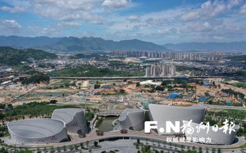 福州三江口梁厝片區主要道路全面開建