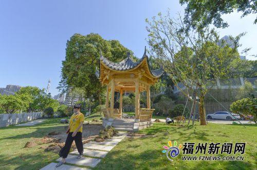 面积1万多平方米!福州南禅山公园提升改造即将完工