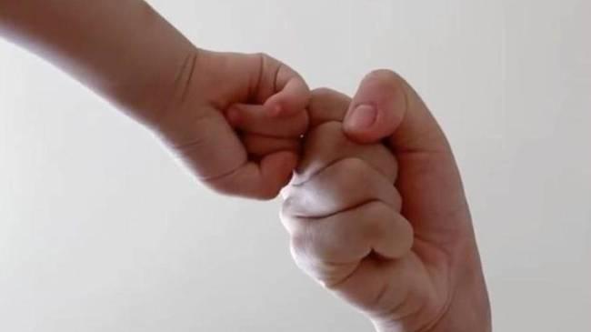 【欢娱】谢娜晒与女儿碰拳视频 谢娜女儿多大了叫什么名字