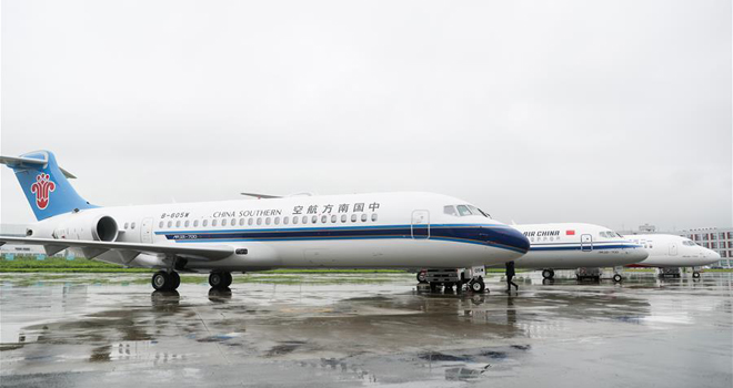 ���a新支�客�CARJ21�M入我��主流航空市��
