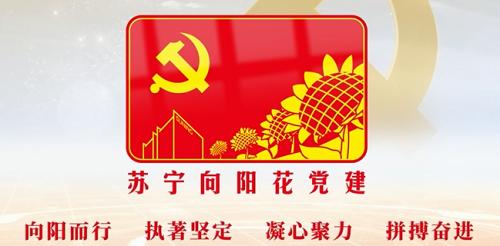 """""""苏宁向阳花""""新时代非公党建内涵"""